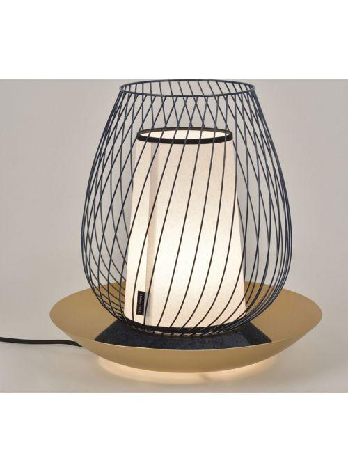 LAMPE OASIS METAL MURANO