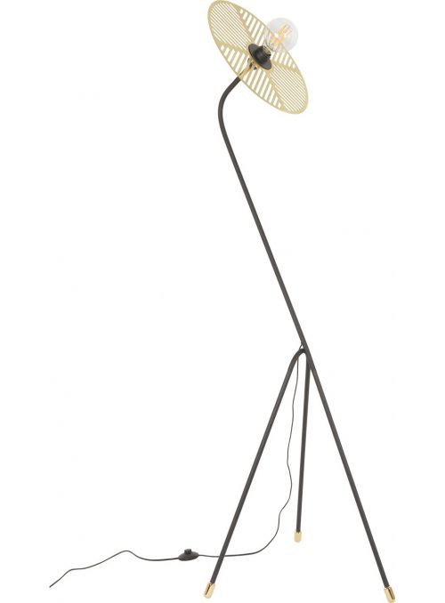LAMPADAIRE WATERLILY METAL...