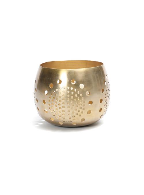BOUGEOIR CIRCLE BALL - GOLD...