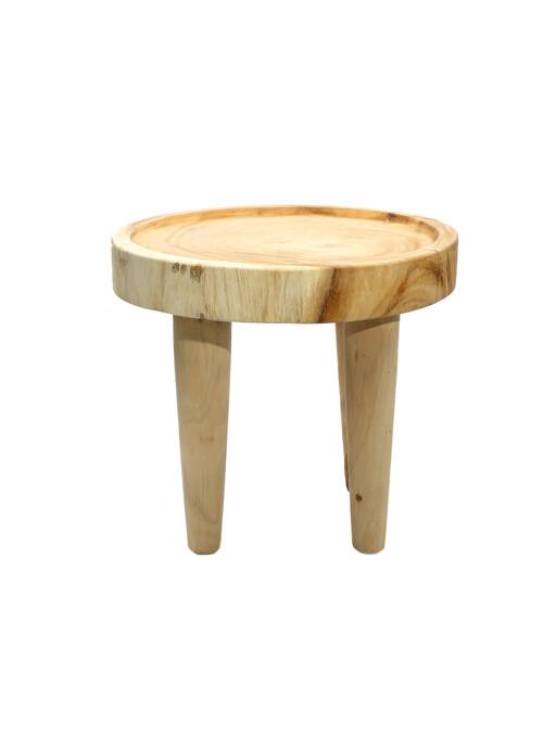 TABLE D'APPOINT SUAR - NATUREL
