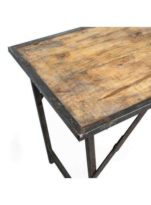 TABLE PLIABLE MARKET - NATUREL