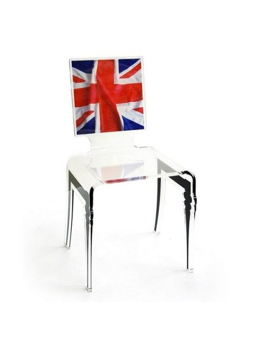 chaise graph UK flag