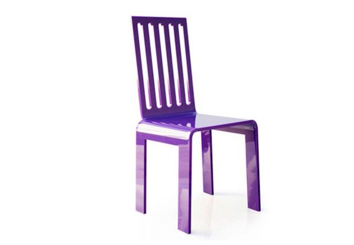 chaise barreaux