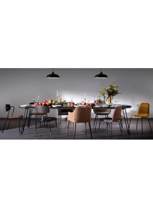 TABLE OVALE EXTENSIBLE MILIAN