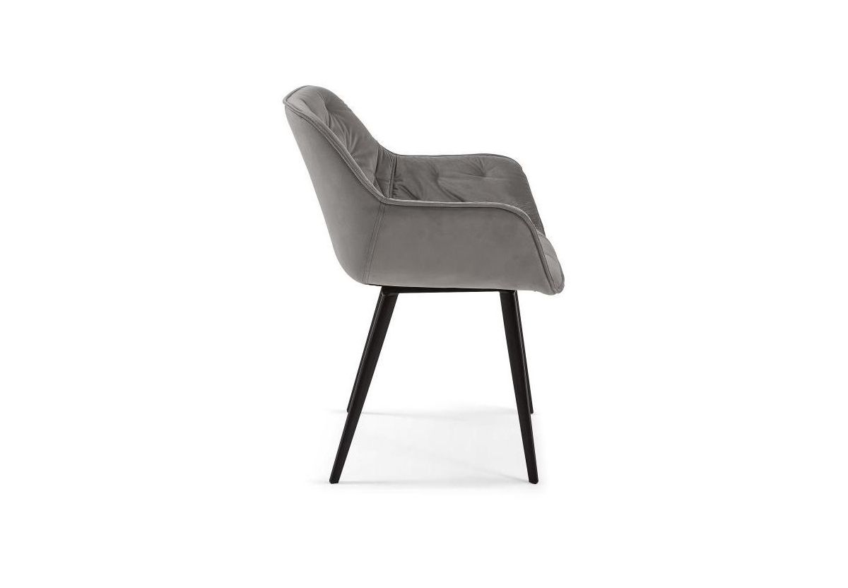 CHAISE VELOURS MULDER