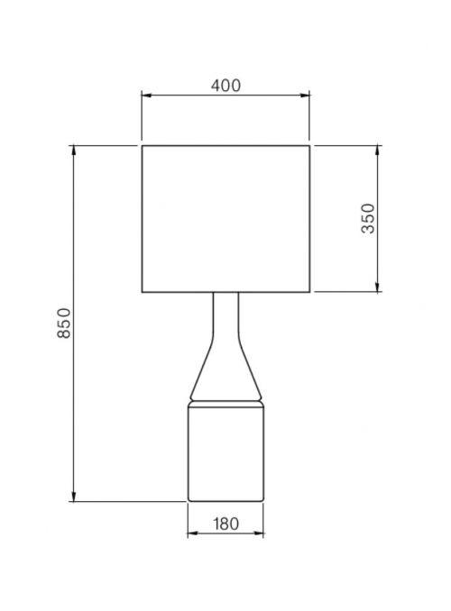 LAMPE DE TABLE ANNA BELLE 3