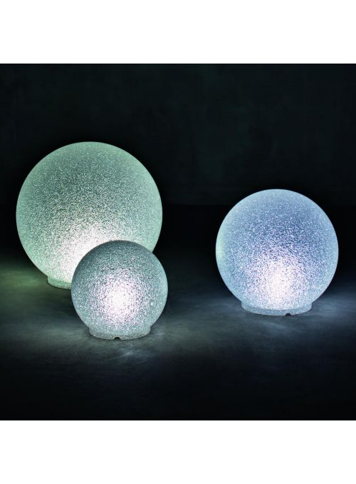 LAMPE A POSER CRYSTAL MOON DIAM 75