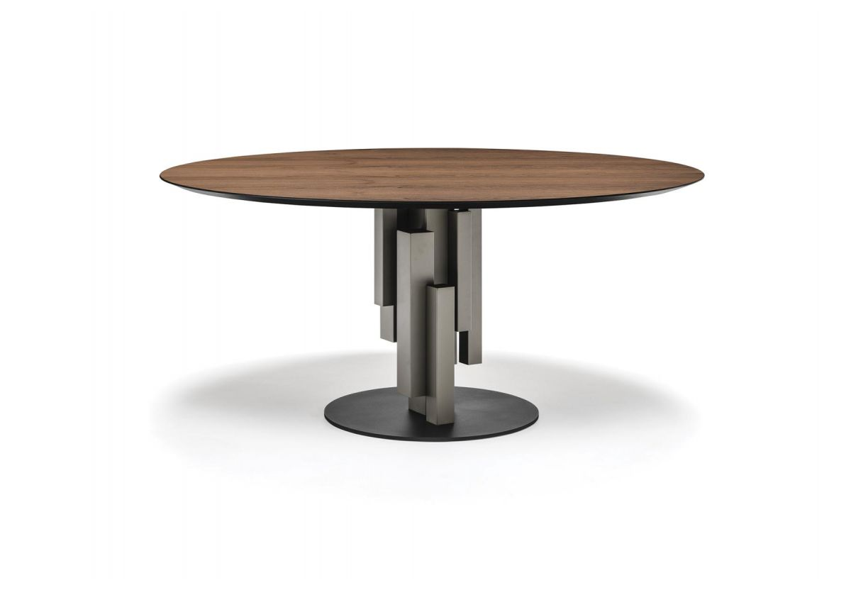 TABLE SKYLINE WOOD ROUND