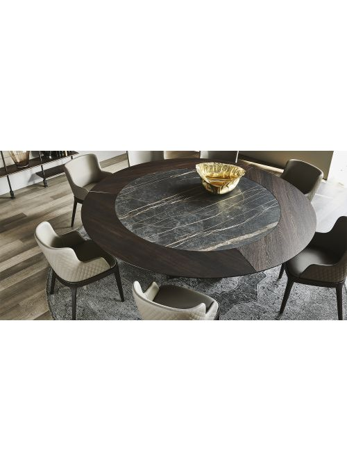 TABLE SKORPIO KER-WOOD ROUND