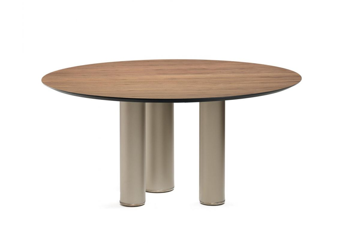 TABLE ROLL WOOD ROUND