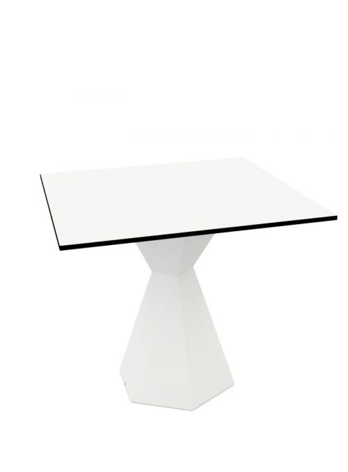 TABLE VERTEX CARREE