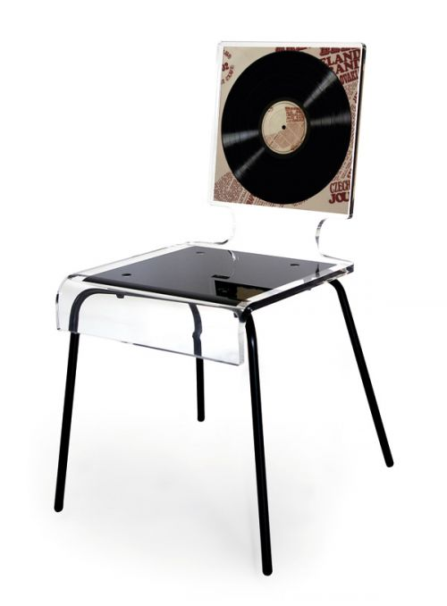 CHAISE GRAPH VINYLE