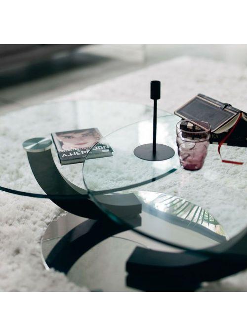 TABLE BASSE COBRA INOX