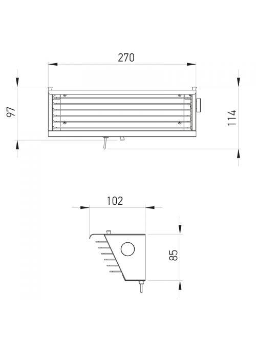 APPLIQUE MURALE BINY BOX 2