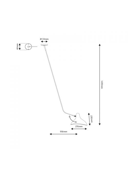 PLAFONNIER MANTIS BS4 L