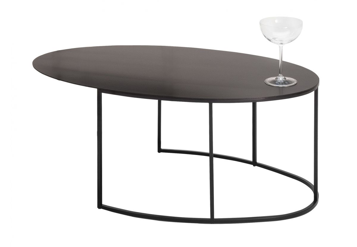 TABLE BASSE SLIM IRONY OVAL