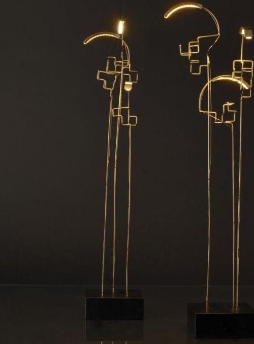 LAMPE DE TABLE BOUCLE