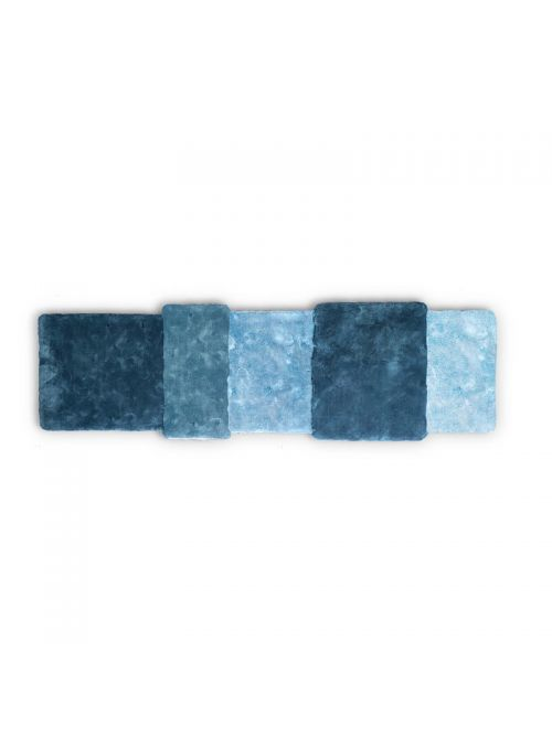 TAPIS OVER BLEU RECTANGULAIRE