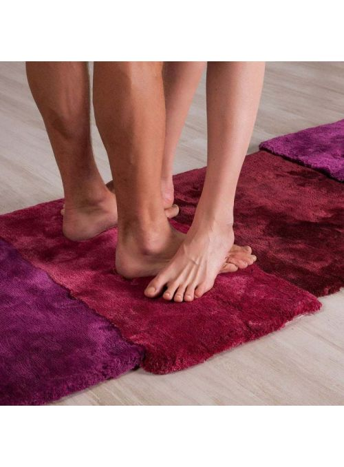 TAPIS OVER ROUGE RECTANGULAIRE