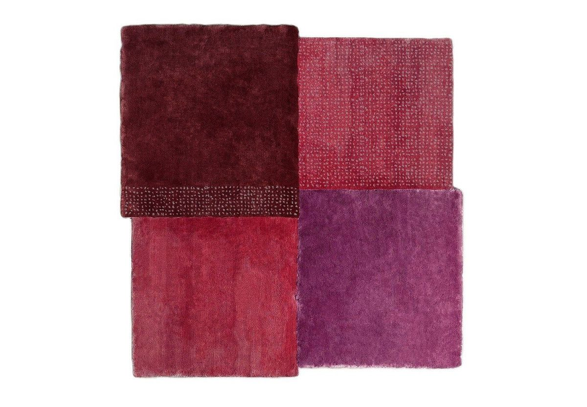 TAPIS OVER ROUGE CARRE