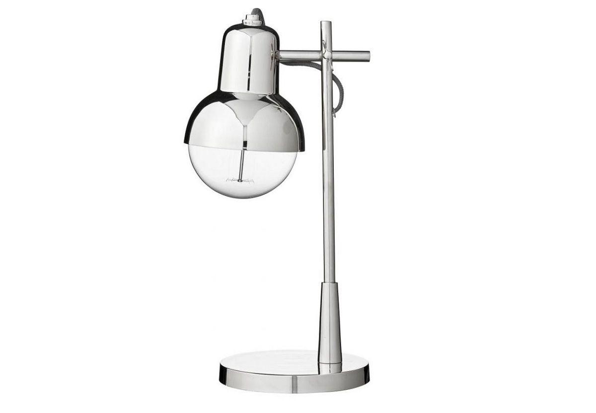 LAMPE DE TABLE CARMELA ARGENT