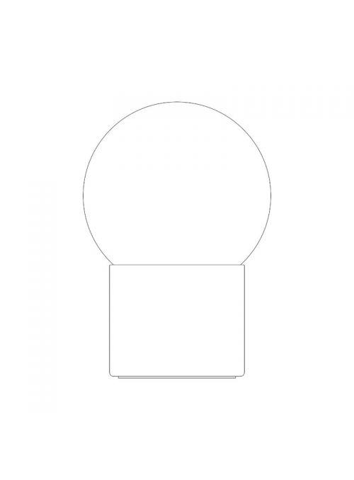 LAMPE DE TABLE PULCE