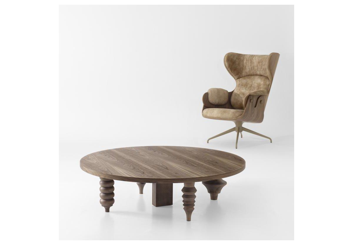 TABLE BASSE MULTILEG ROND