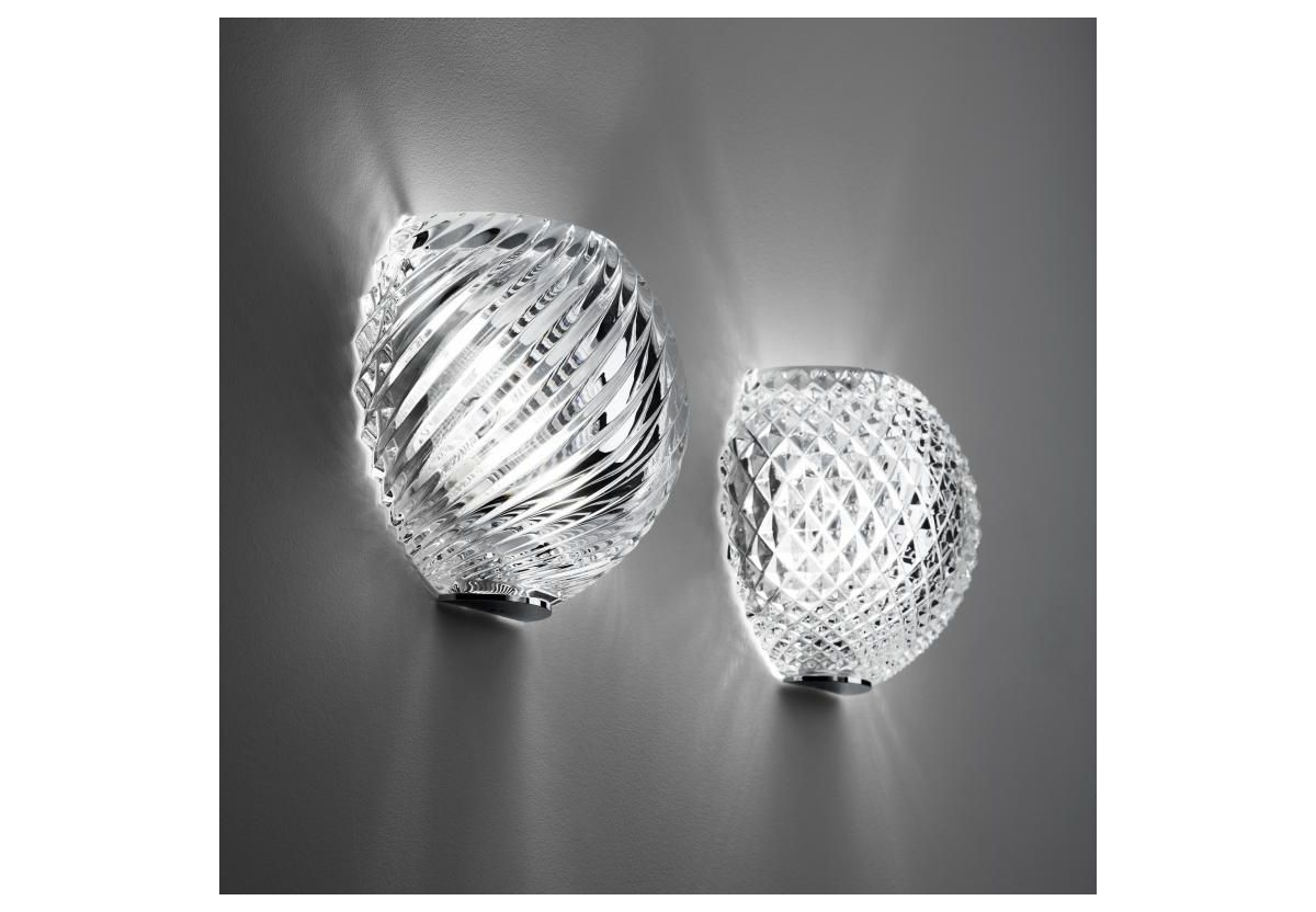 APPLIQUE MURALE DIAMOND & SWIRL