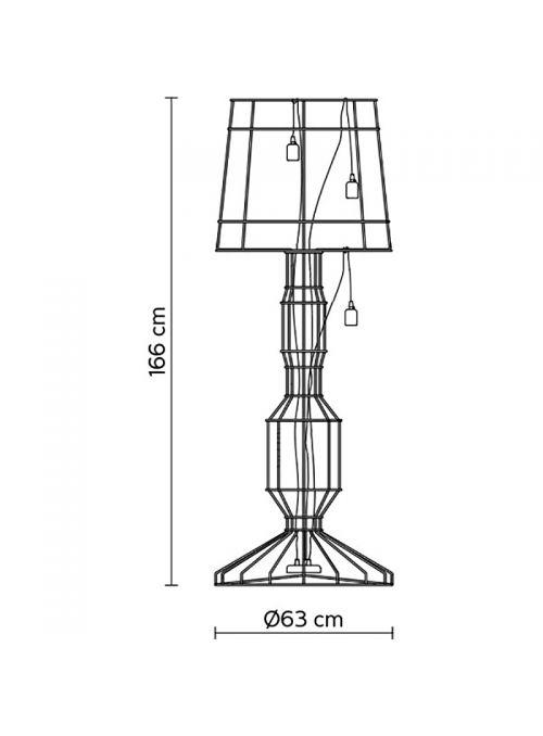 LAMPADAIRE SISMA
