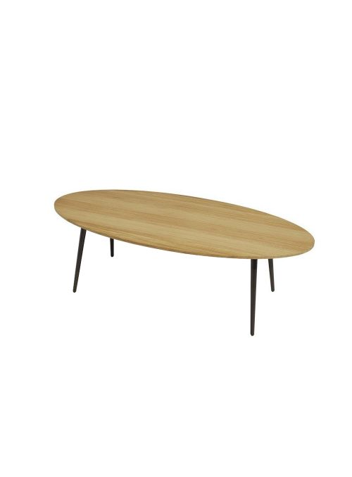 TABLE BASSE OVAL VINT