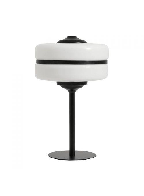 LAMPE DE TABLE VERRE METAL