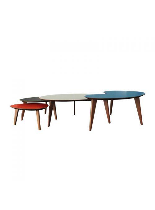 4 TABLES BASSES PL 1950