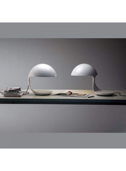 LAMPE DE TABLE COBRA BLANCHE