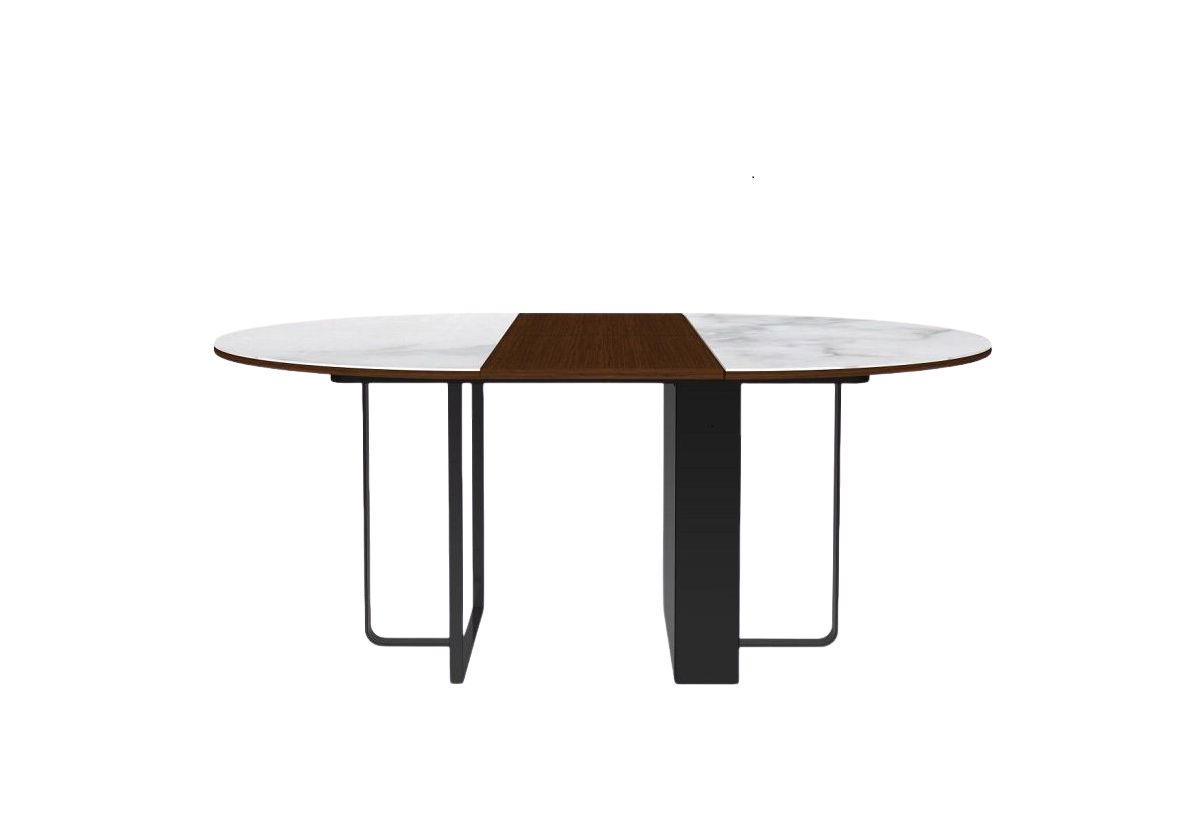 TABLE A RALLONGE RONDE FELICE