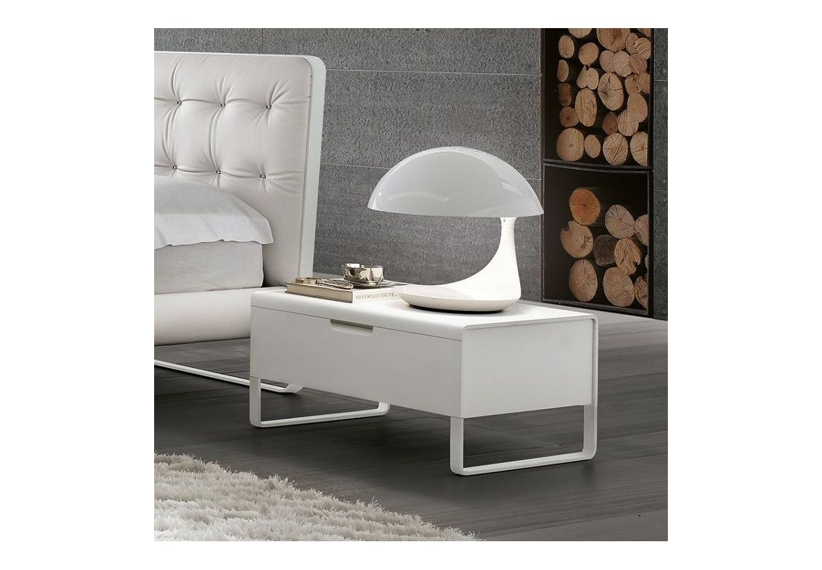 TABLE DE CHEVET ESPRIT BLANC