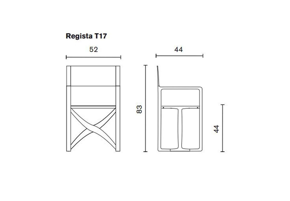 FAUTEUIL PLIANT REGISTA T17