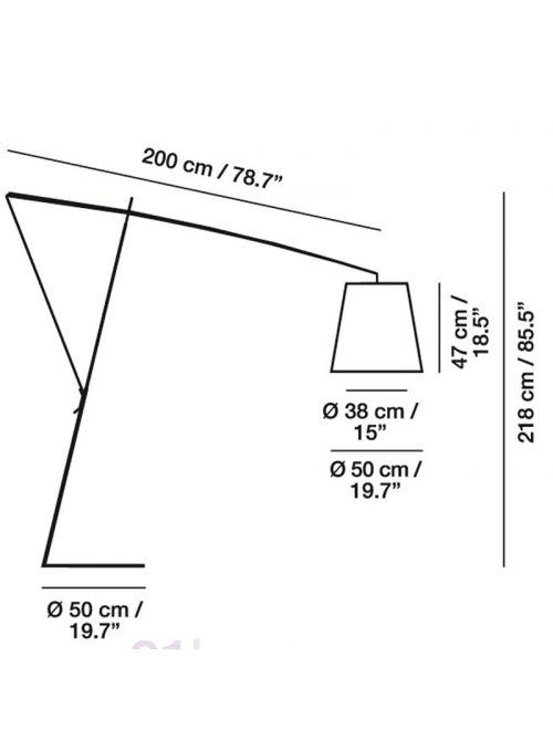 LAMPADAIRE ROBIN