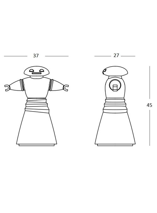 LAMPE DE TABLE MR. BOT