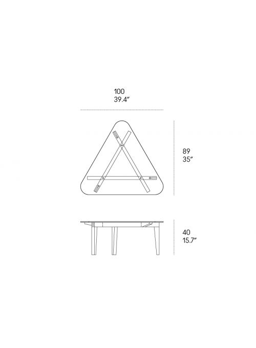 TABLE BASSE AUTOREGGENTE