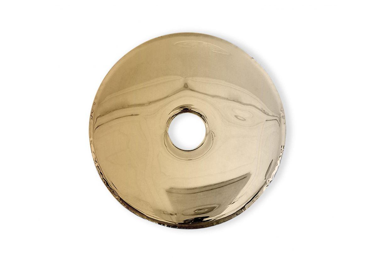 MIROIR RONDO GOLD