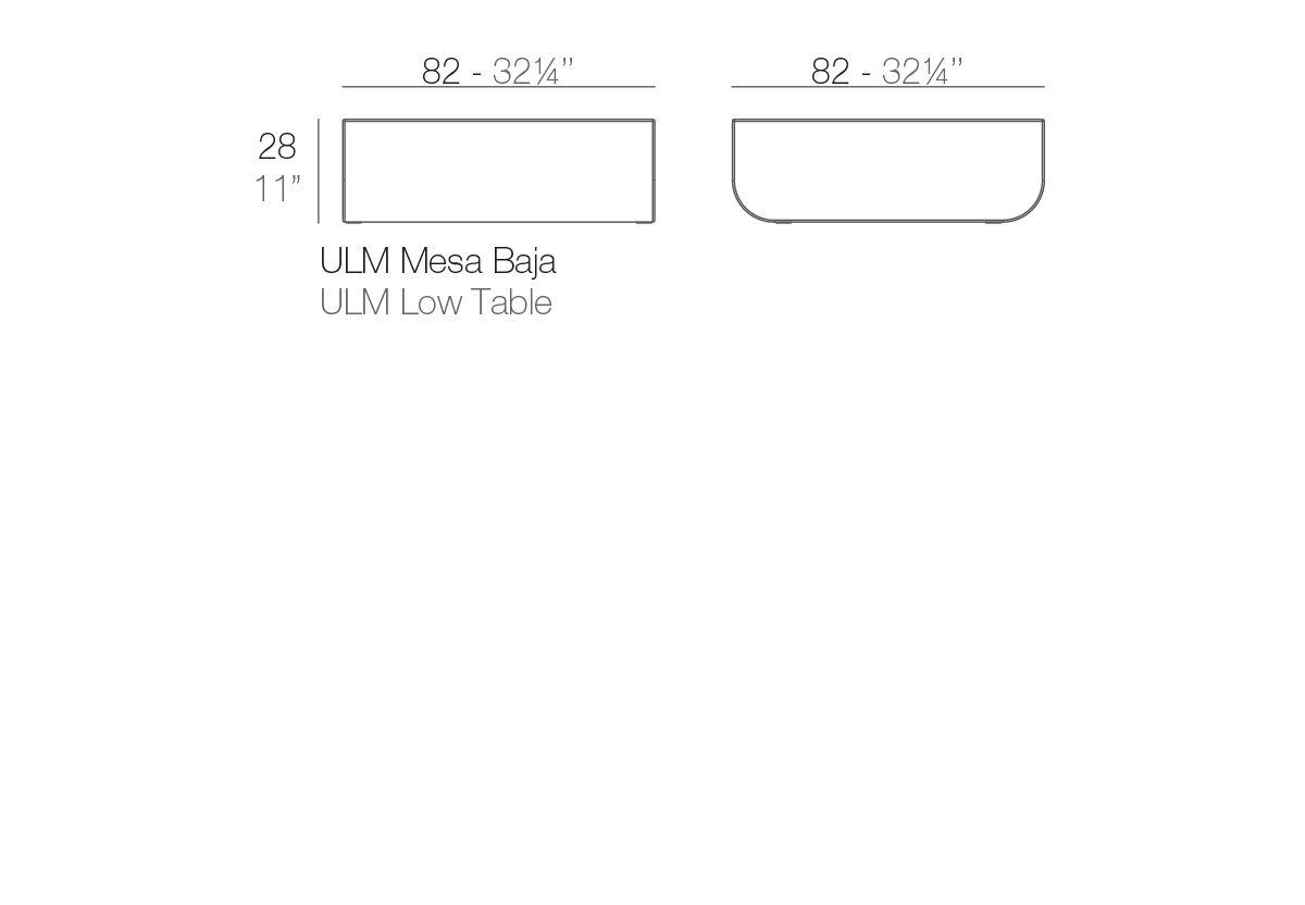 TABLE BASSE ULM