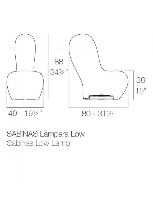 LAMPADAIRE SABINAS