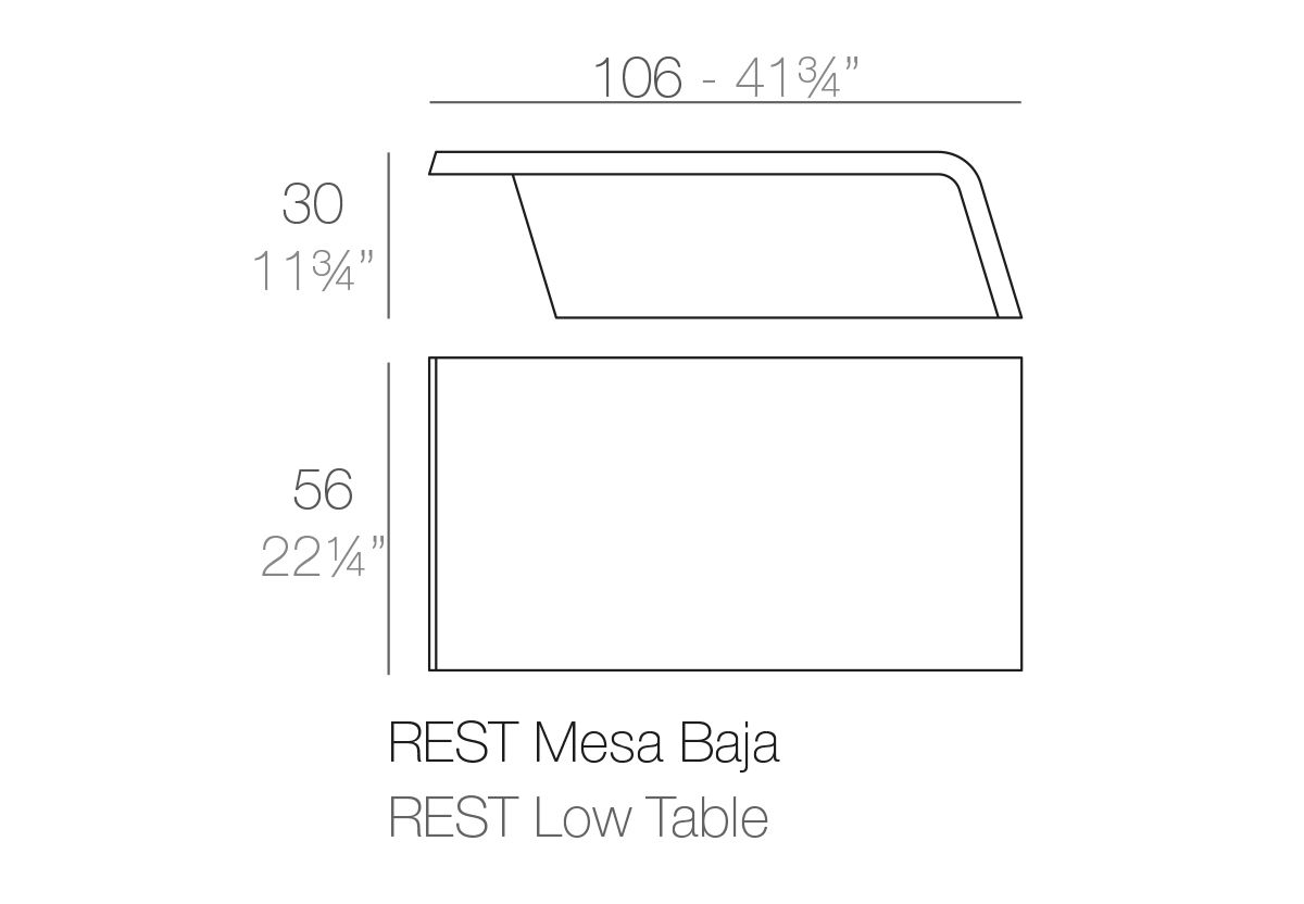 TABLE BASSE REST