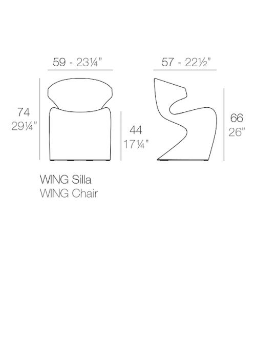 CHAISE WING