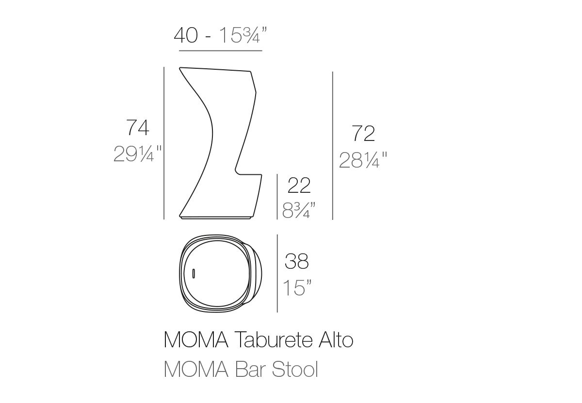 TABOURET MOMA