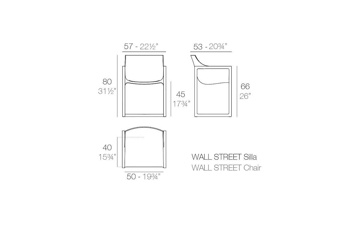 CHAISE WALL STREET