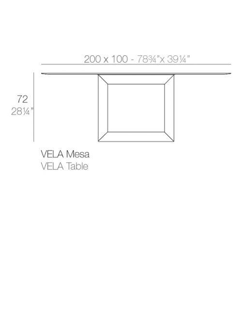 TABLE VELA