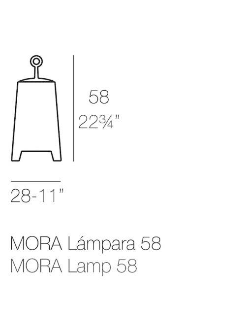 LAMPADAIRE MORA