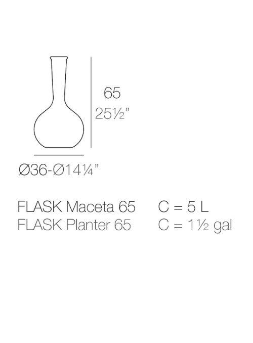 VASE CHEMISTUBES FLASK