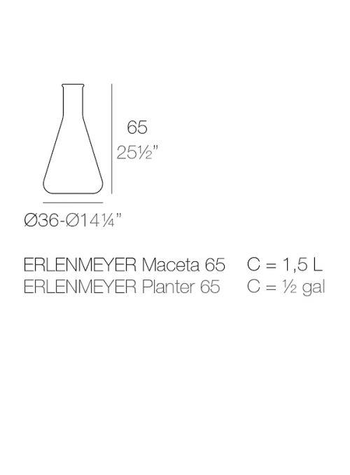 VASE CHEMISTUBES ERLENMEYER